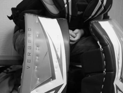 Verbery Hockey Goalie