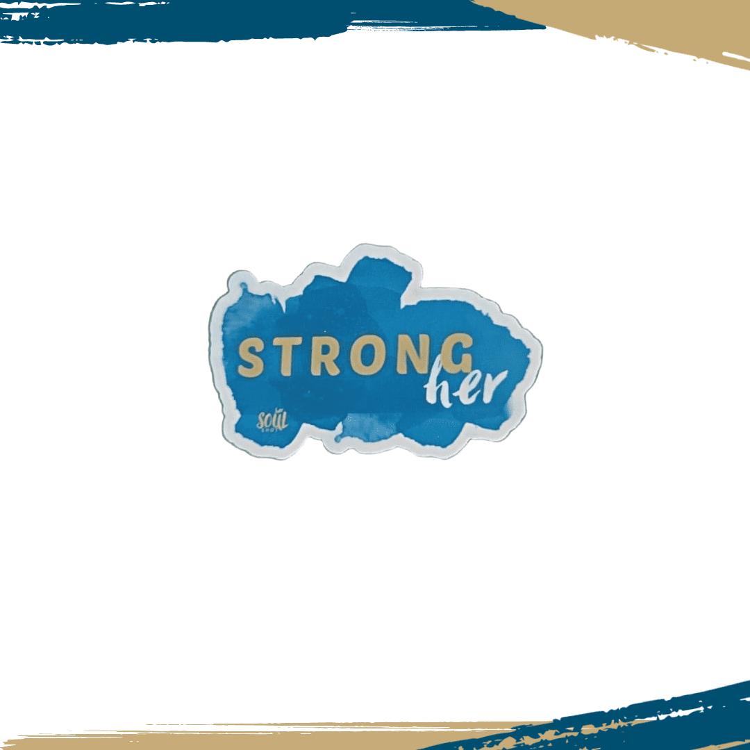 Strongher Sticker