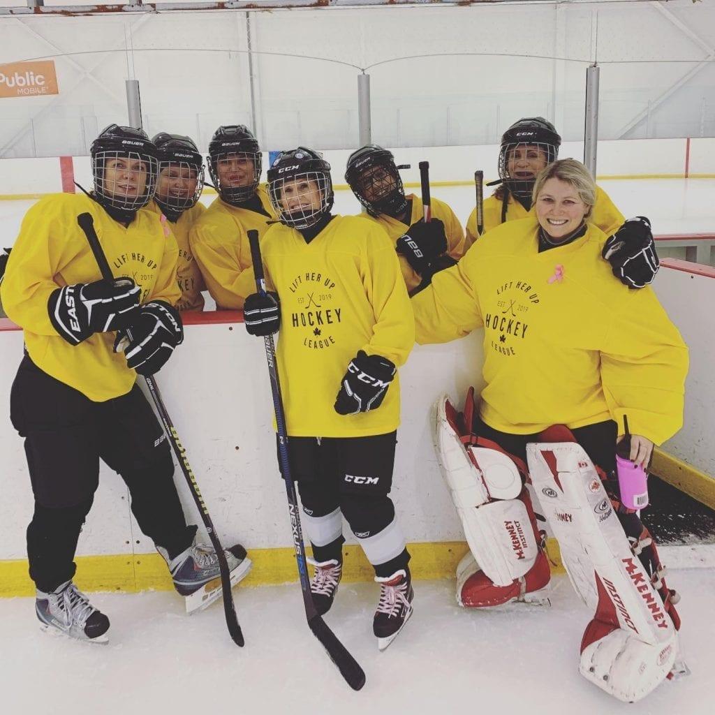 Lift her up hockey Ontario